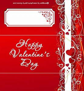 romantic red valentine free printable candy bar wrapper With valentine candy bar wrapper templates