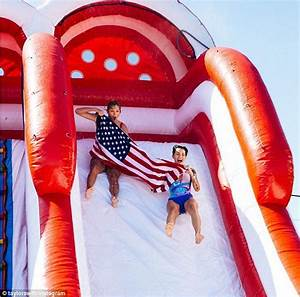 Ruby Rose and Taylor Swift hit the water slide at Fourth ...