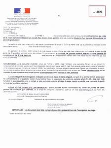 Convocation Permis De Conduire : lettre 48n et le stage obligatoire pour les permis probatoire ~ Medecine-chirurgie-esthetiques.com Avis de Voitures
