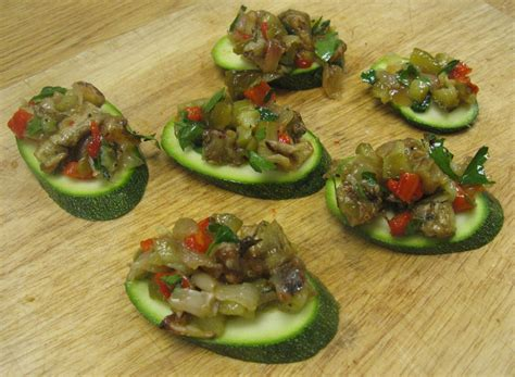 cool canapes better d c food roasted vegetable