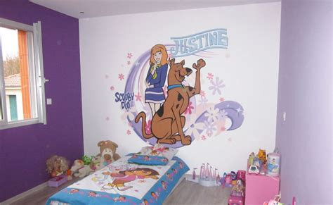 peinture de chambre fille decoration chambre fille en peinture
