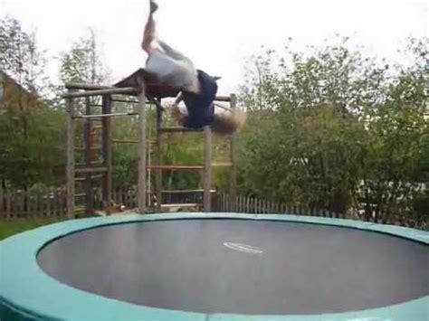 Garten Trampolin Training Youtube