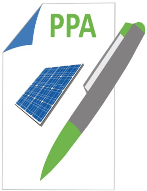 solar power purchase agreement business template