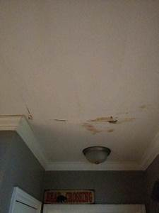 Leak from upstairs tiled shower doityourselfcom for Leak in upstairs bathroom