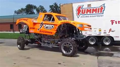 bigfoot monster truck videos youtube bigfoot monster truck song on arrival into at the carrier
