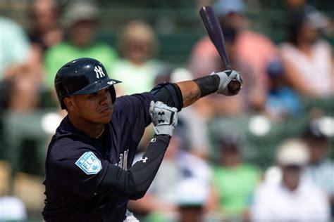 Yankees Designate Thairo Estrada For Assignment - MLB ...