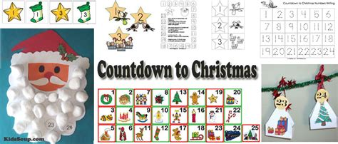 Countdown To Christmas Advent Calendar Activities For Kids
