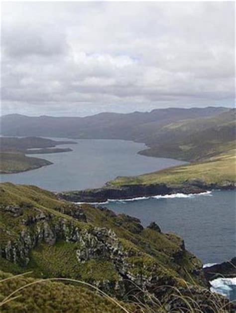 Auckland Islands Map Geography The