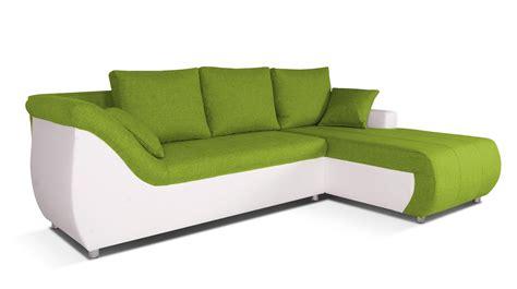 canapé d angle vert corabia canapé d 39 angle convertible droit design vert et