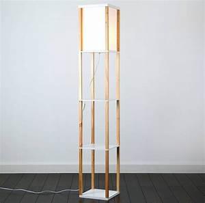 valuelights wooden shelving unit floor lamp review rock With 3 shelf wooden floor lamp