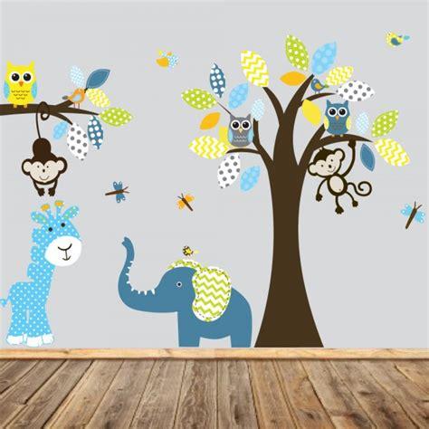 chambre bébé idée déco stickers chambre bébé idées inspirations tendances