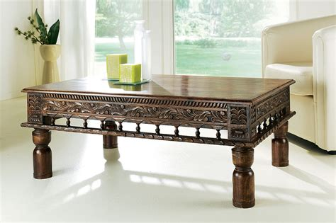 table basse marocaine bois table basse style pour salon marocain deco salon marocain
