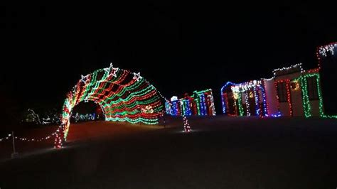 wild lights palm desert large model train set on display npretty cool picture of