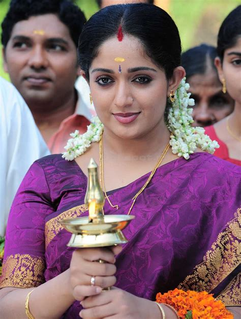 beautiful traditional  actress kavya madhavan