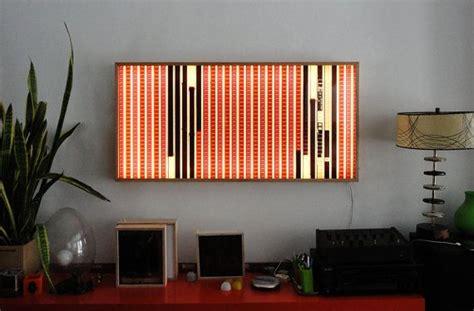 lofty lightbox 22 vintage 35mm collage on acrylic