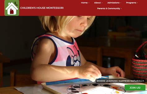 100 preschool amp kindergarten websites for design inspiration 480 | 067 childrens house montessori