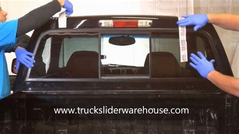 install  sliding rear window youtube