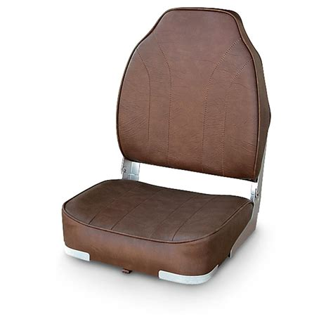 Boat Seats High Back by Wise 174 Economy High Back Boat Seat 294844 Fold