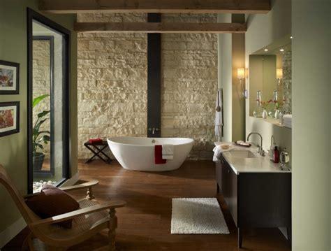 modern stone wall bathroom designs decorating ideas
