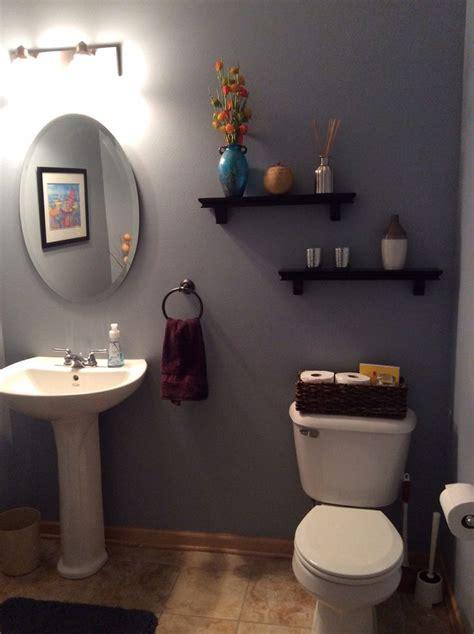 Behr Bathroom Paint Color Ideas by Behr Marquee Intercoastal Gray Wall Color Bathroom