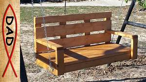 2x4 Simple Porch Swing No Fancy Cuts Or Angles