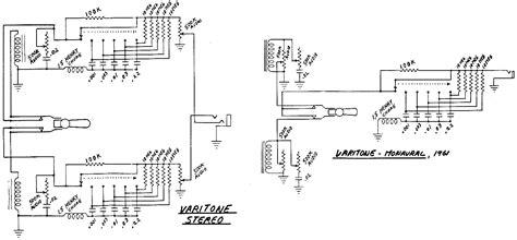 schematics varitone circuits pre  vintage guitars vintage guitars guitar diagram