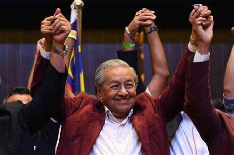 malaysia elections  mahathir mohamad  shock win time