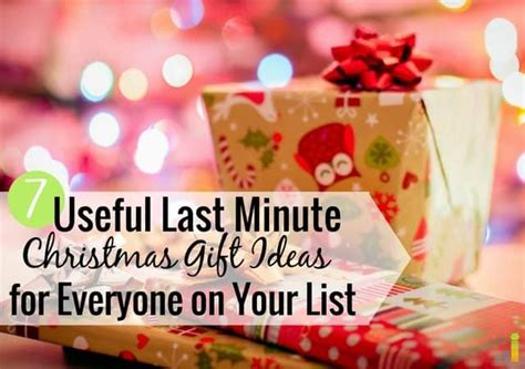 christmas gift ideas for anybody 7 useful last minute gift ideas for everyone on your list frugal