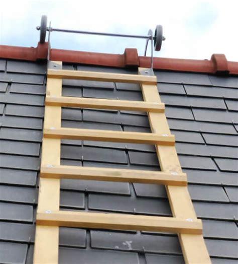 echelle de toit en bois garantie 5 ans
