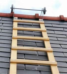 Echelle De Toit : echelle de toit en bois garantie 5 ans ~ Edinachiropracticcenter.com Idées de Décoration