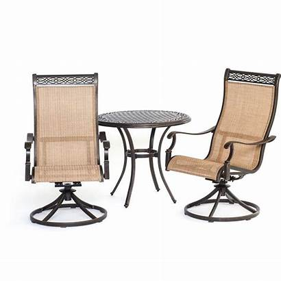 Bistro Patio Piece Chairs Outdoor Dining Furniture