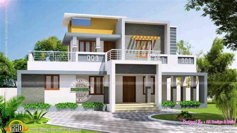 Modern Box Style House Plans YouTube