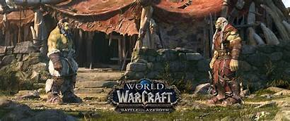 Warcraft Azeroth Battle Wow 4k Horde Sylvanas