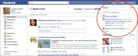 Are You Using Facebook Events?  Direct Sales And Social