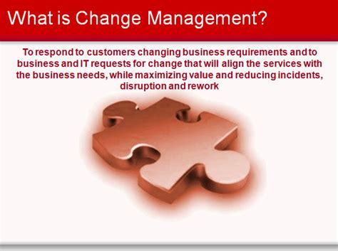 itil change management toolkit