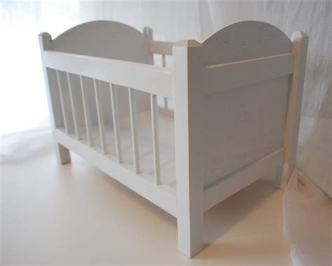 build   baby doll crib woodworking projects plans