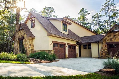 cottage craftsman european french country house plan