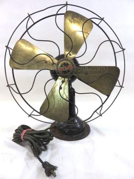 ceiling fans dayton ohio vintage dayton brass blade oscillating fan young again