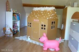 Cabane Chambre Enfant : diy la petite cabane en carton autour du dressingautour du dressing ~ Teatrodelosmanantiales.com Idées de Décoration
