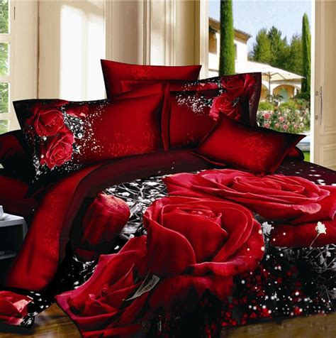 Bed Cover Sets by Unique Flower Painting Duvet Quilt Cover King 3d