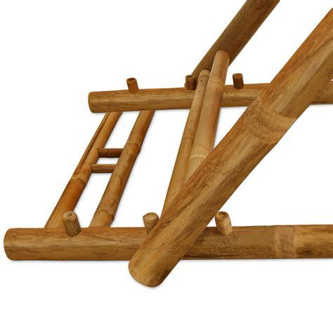 wooden folding deck chairs bamboo garden deckchair