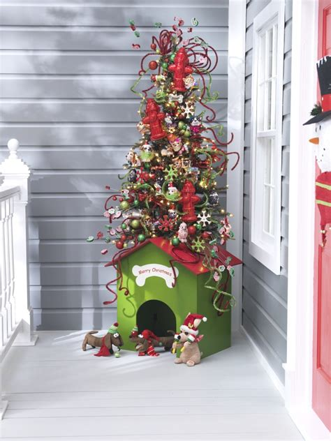 christmas holiday centerpieces pinterest dog house