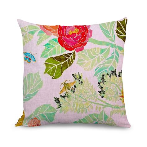 18x18 pillow covers aliexpress buy 18x18 inch butterfly and