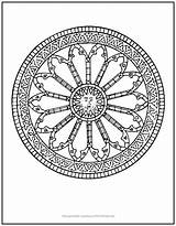 Mandala Sun Coloring Inner Unique Surrounded Sundial Tap sketch template