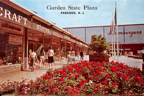 garden state plaza stores malls of america vintage photos of lost shopping malls