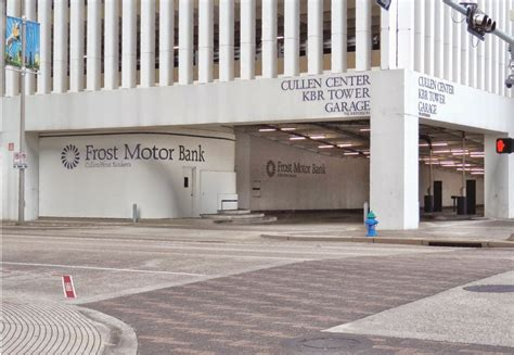 frost motor bank  cullen center kbr garage