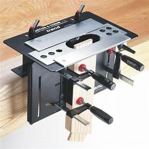 Fabriquer Tenon Mortaise : gabarit tenon et mortaise pour d fonceuse trend machinery ~ Premium-room.com Idées de Décoration