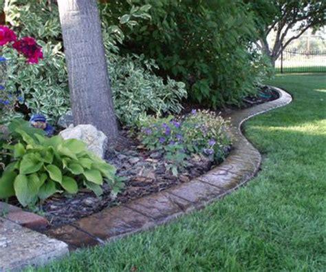 border landscape design brick landscaping borders