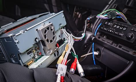 installing   head unit installing  car stereo