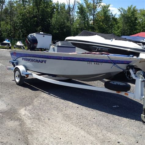 Used Boat For Sale Ottawa by Princecraft 14 Pro Series 1996 Used Boat For Sale In